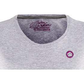E9 Harl T-Shirt Damen grey-mel